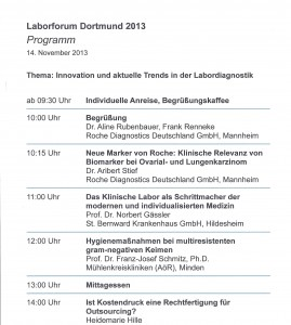 Programm Roche2013