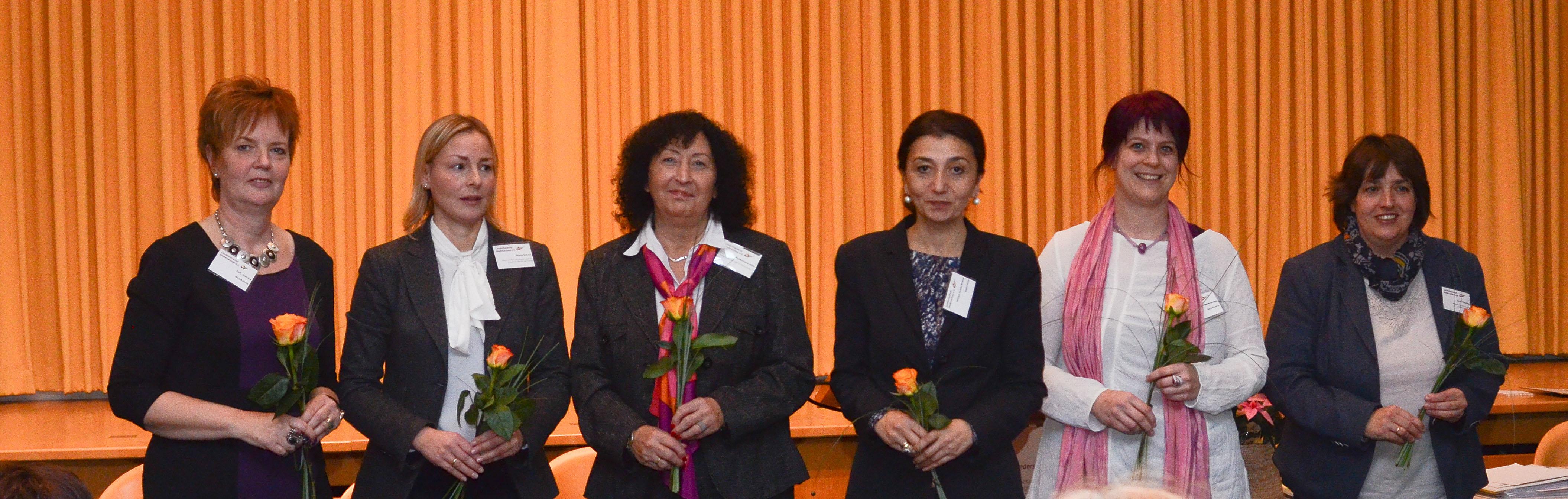 Kandidatinnen Vorstandswahl Landesfrauenrat_15Nov2014